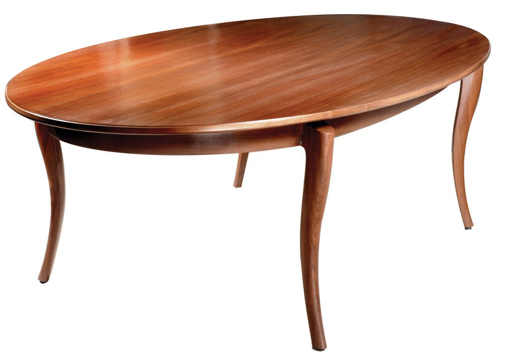 20th Century Beitel Dining Table by American Studio Craft Artist David N. Ebner For Sale
