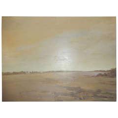 """Chapel"" Wainscot Field by Long Island Artist, Walter Us"