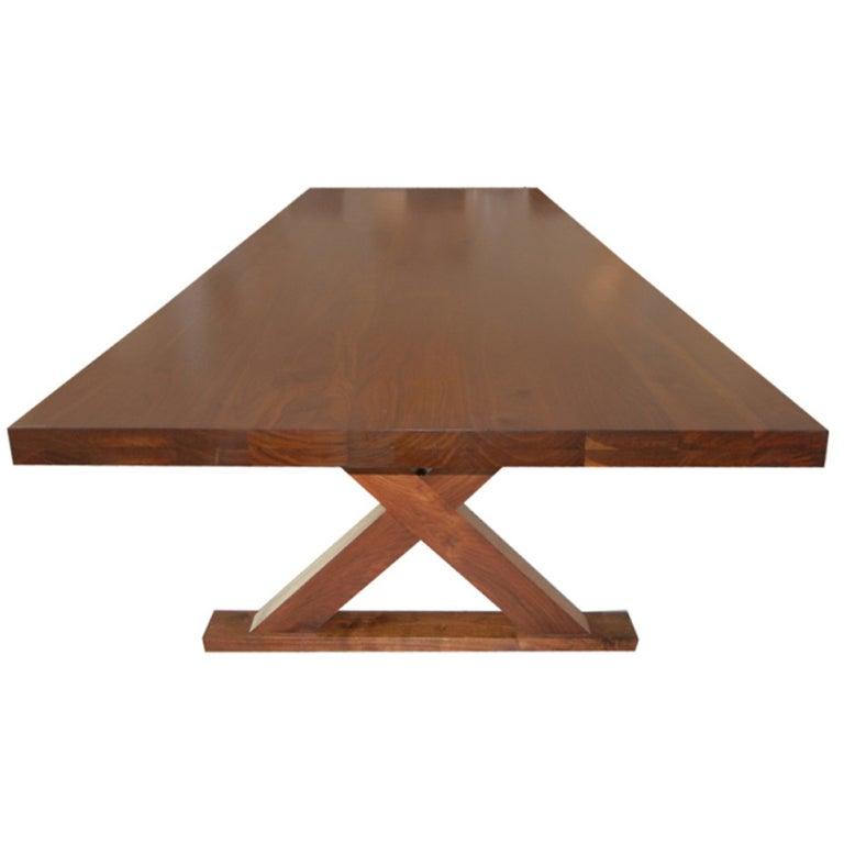 Studio Crafted Dining Room Table or Desk For Sale