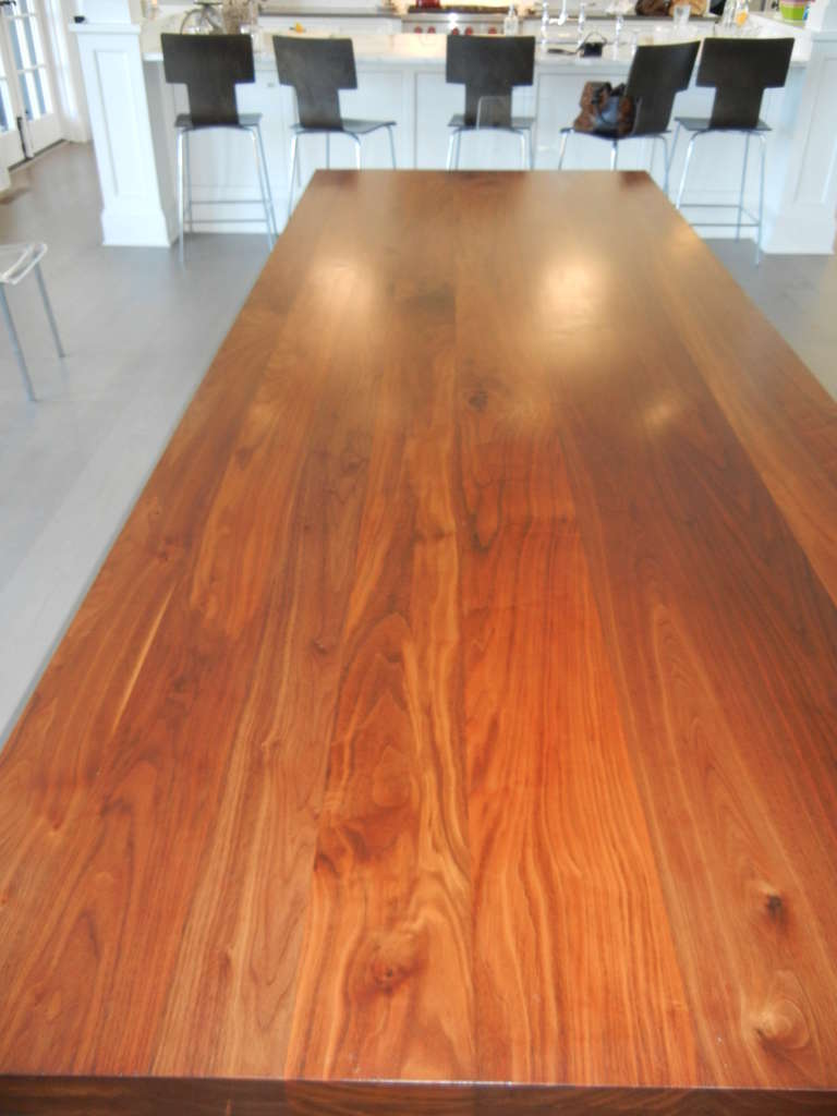 20th Century Studio Crafted Dining Room Table or Desk For Sale