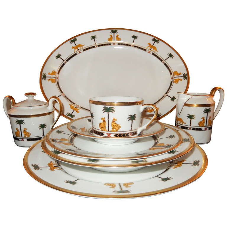 Christian Dior Fine China \'Casablanca\' Dinnerware at 1stdibs
