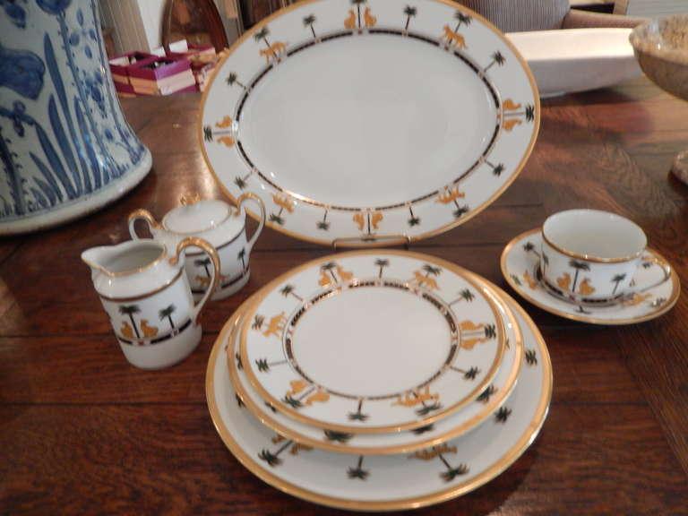 Christian Dior Fine China Casablanca Dinnerware At 1stdibs