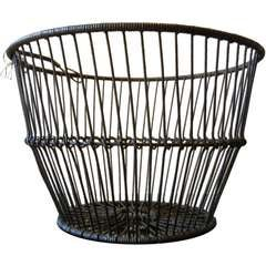 A Long Island Great South Bay Antique Clam Basket