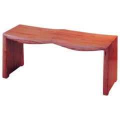 David N. Ebner, American Studio Craft Artist, Spanish Cedar Bench