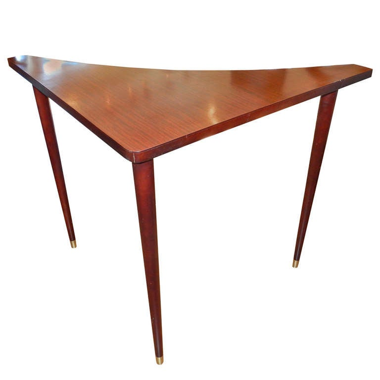 A Danish Mid Century Sofa Corner Table At 1stdibs