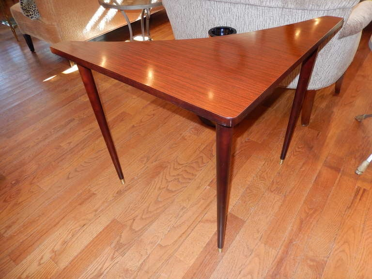 Scandinavian Modern A Danish Mid-Century Sofa Corner Table