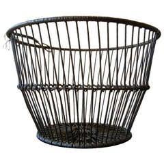 A Long Island NY Antique Clam Basket