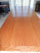 David n ebner makore wood dining room or conference table for Tejas dining room at t conference center