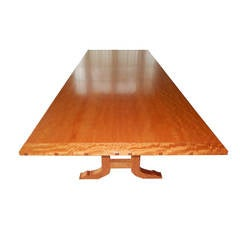 David N. Ebner Makore Wood Dining Room or Conference Table, 2006