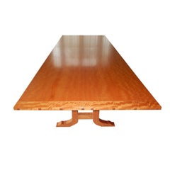 David N. Ebner Makore Wood Dining Room or Conference Table,