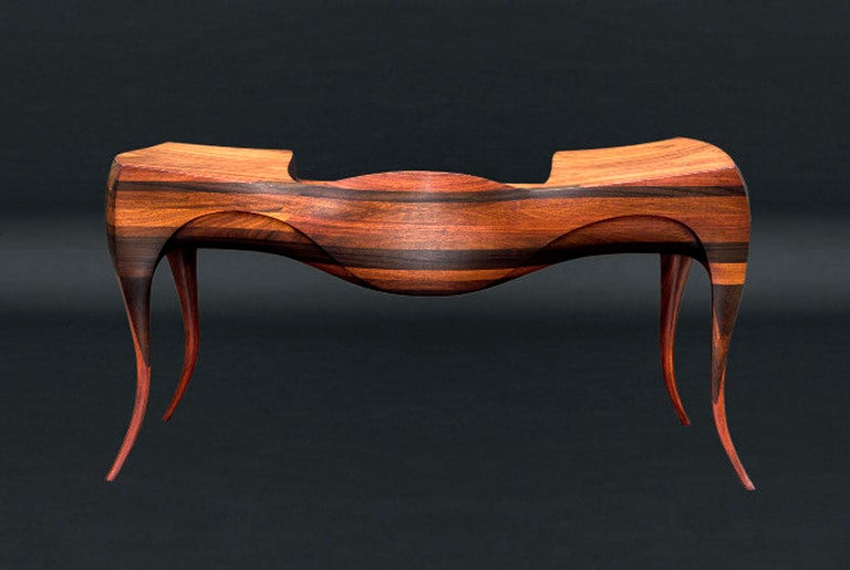 1965 Wendell Castle Vermilion Desk And Chair 3