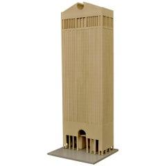 Philip Johnson AT&T Building Architectural Model, USA 1979