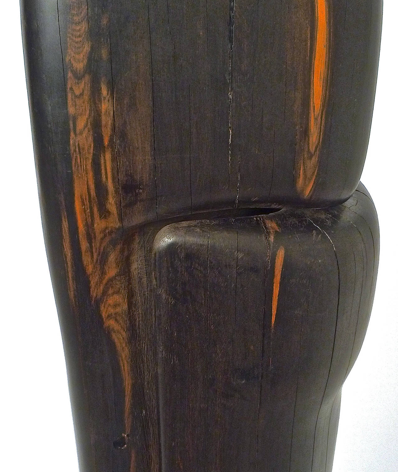 "Monumental and Important Ebony ""Affiniti"" Sculpture by Gino Cosentino 7"