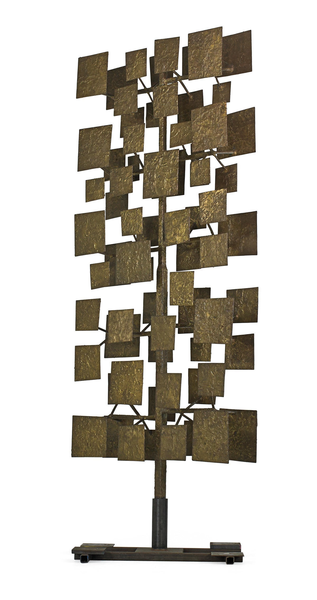 American Harry Bertoia Sculpture Screen Commissioned by Florence Knoll, USA 1959 For Sale