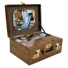 Vintage Transatlantic Cosmetics Suitcase by Mark Cross