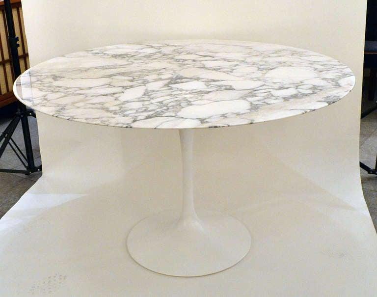 Saarinen Marble Tulip Table Marble Tulip Table by Eero