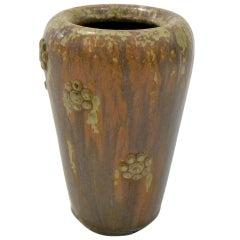 Scandinavian Mid-Century Stoneware Vase by Arne Bang, Denmark, 1950s