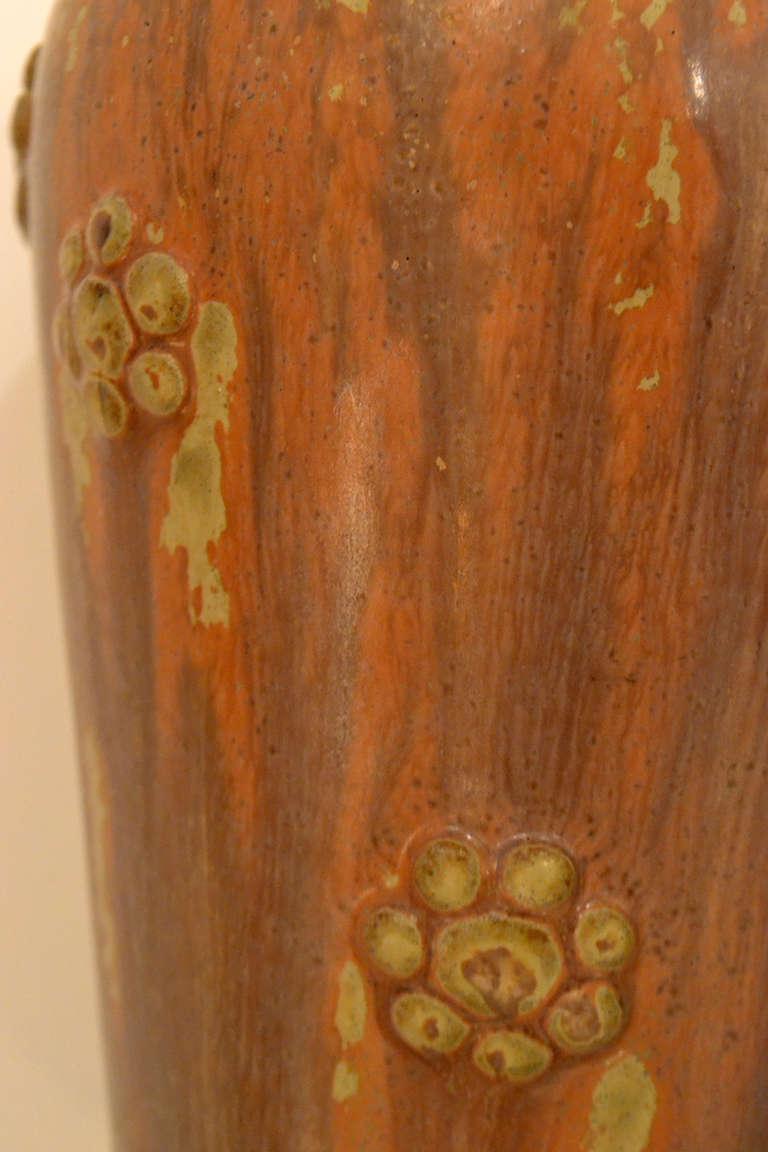 Mid-20th Century Scandinavian Mid-Century Stoneware Vase by Arne Bang, Denmark, 1950s For Sale