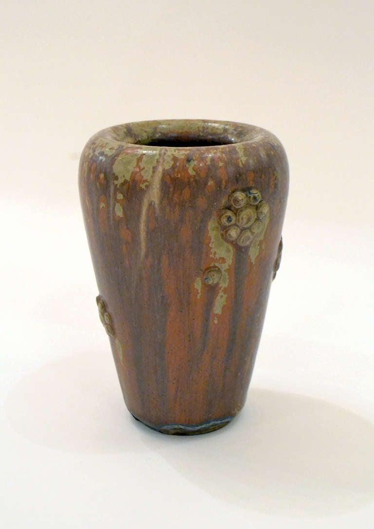 Scandinavian Modern Scandinavian Mid-Century Stoneware Vase by Arne Bang, Denmark, 1950s For Sale