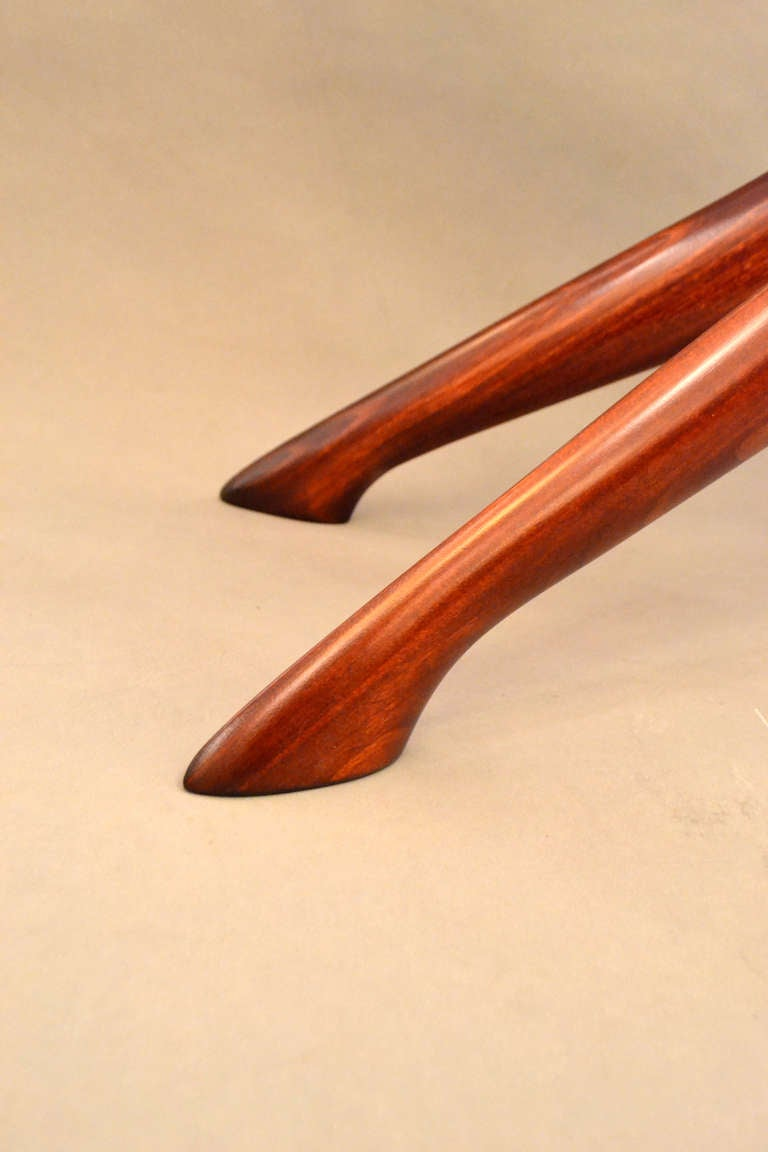 Mid-20th Century Pair of Mid-Century End Tables by Ico Parisi, Italy, 1950s For Sale