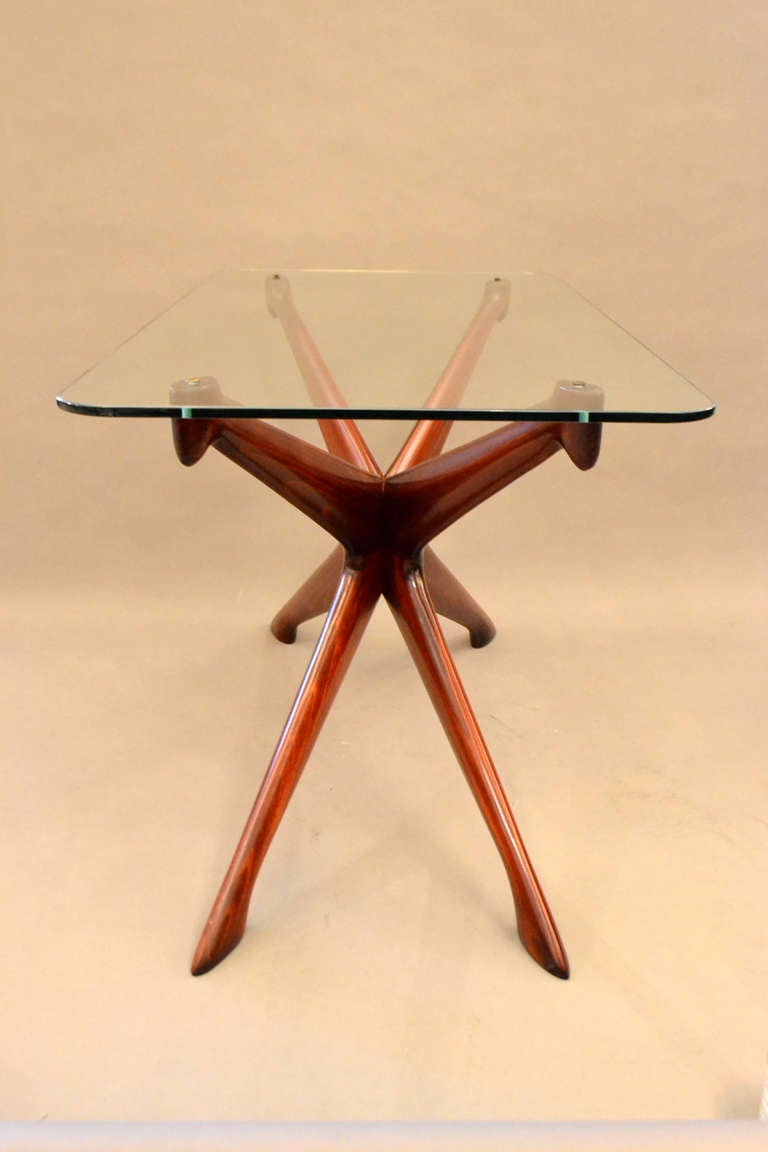 Italian Pair of Mid-Century End Tables by Ico Parisi, Italy, 1950s For Sale
