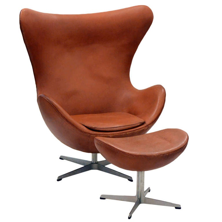 arne jacobsen egg chair and ottoman. Black Bedroom Furniture Sets. Home Design Ideas