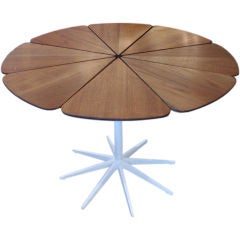 Richard Schultz Petal Table in Teak, for Knoll   2 available