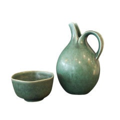 Pitcher and Bowl by Eva Staehr Nielsen for Saxbo