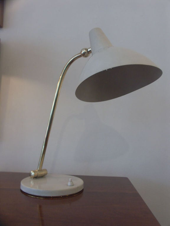 Mid-Century Adjustable Desk Lamp, Italy, 1960s 4