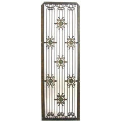 Iron and Bronze Grilles from the Singer Building, NYC, 1908