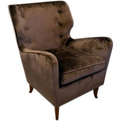 Gio Ponti Wingback Lounge Chair Restyled