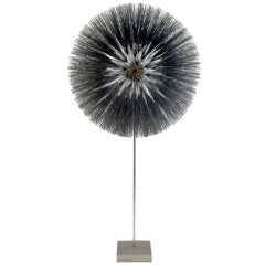 Incredible Stainless Steel Dandelion by Harry Bertoia