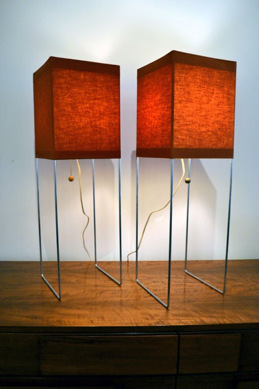Architectonic Quot Box Kite Quot Lamps By Gregory Van Pelt For