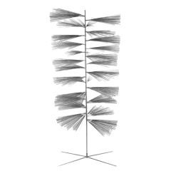 "One of a Kind Stainless Steel ""Pine Tree"" by Harry Bertoia"