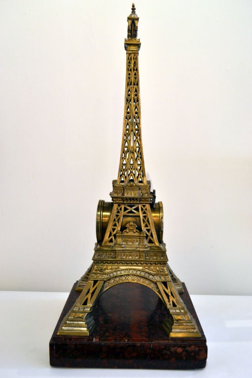 Monumental And Elegant Eiffel Tower Clock At 1stdibs