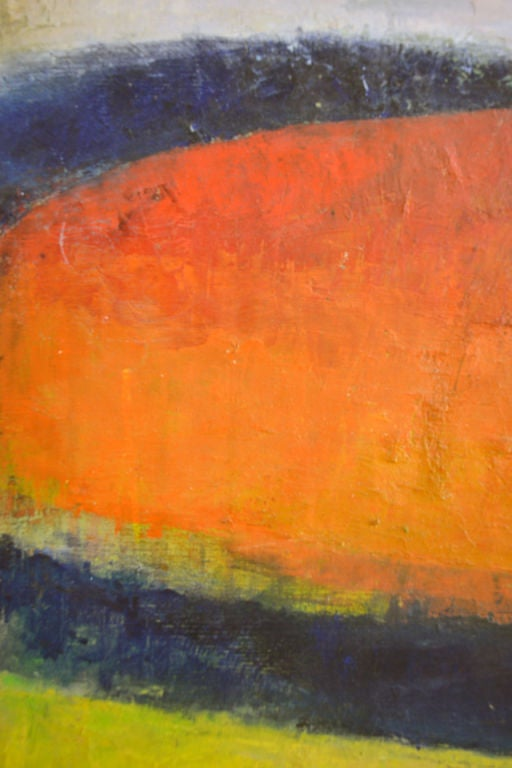 American Colorful Abstract Oil Painting by Dana Hatchett For Sale