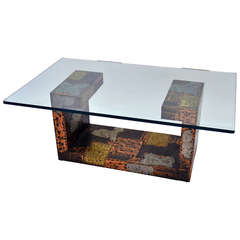 Patchwork Coffee Table by Paul Evans