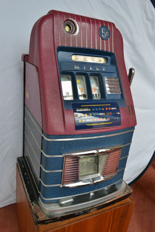 Mills Bell O Matic Slot Machine Usa 1948 For Sale At 1stdibs