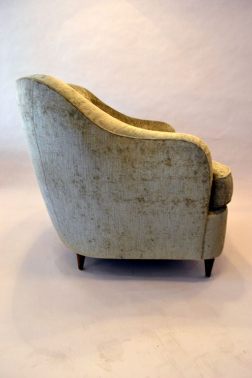 Reproduction of Gio Ponti Club Chair from the Hotel Bristol in Milano, Italy 3