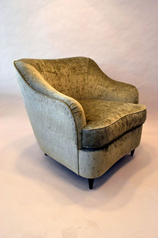 Reproduction of Gio Ponti Club Chair from the Hotel Bristol in Milano, Italy 4