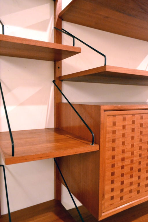 Wonderful Wall Storage System by Poul Cadovius For Sale 2