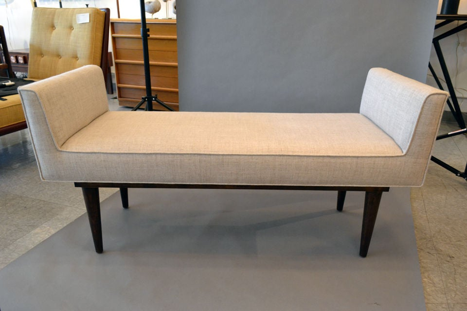 American Boudoir Bench by Lost City Arts For Sale