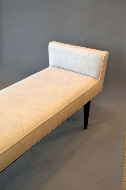 Boudoir Bench by Lost City Arts In Excellent Condition For Sale In New York, NY