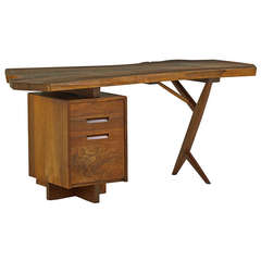 Outstanding Walnut Desk by George Nakashima