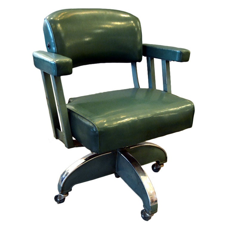 Chairs And More: Pre-War Desk Chair By Do More Office Manufacturers At 1stdibs