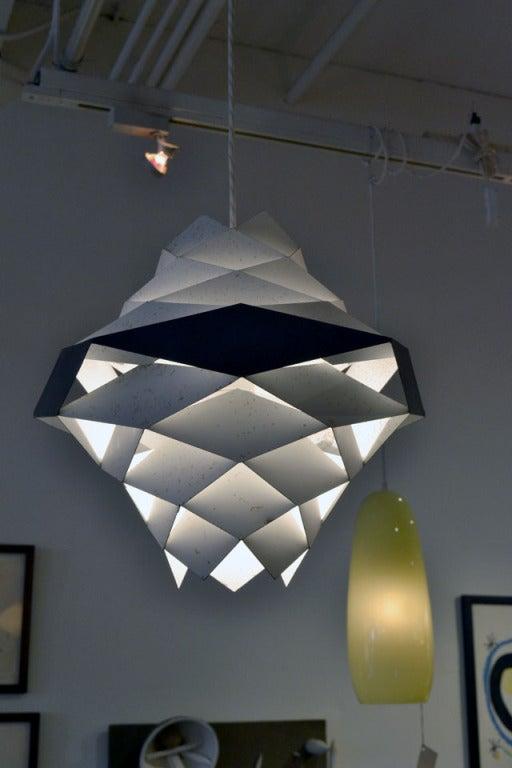 Sculptural Harlequin Suspension Light by Preben Dahl 2