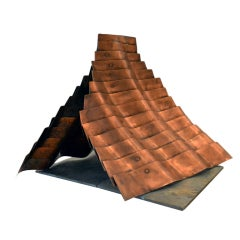 Copper Pyramid by Duayne Hatchett