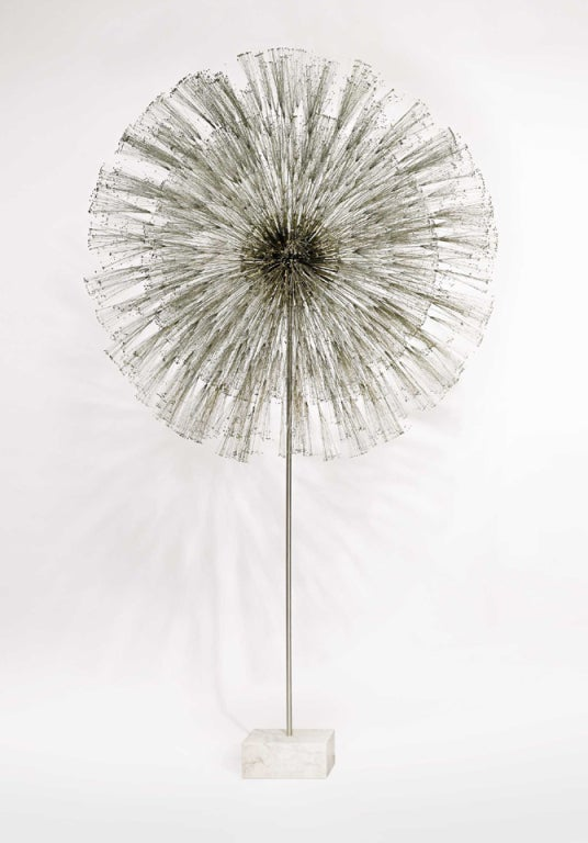 Outstanding and Rare Dandelion Sculpture by Harry Bertoia 2