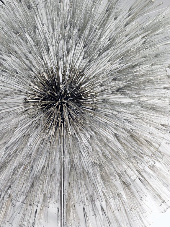 Outstanding and Rare Dandelion Sculpture by Harry Bertoia 4
