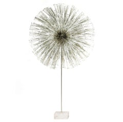 Outstanding and Rare Dandelion Sculpture by Harry Bertoia